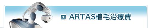 ARTAS植毛治療費